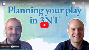 Plan your play in 3NT
