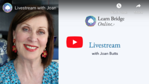 Free Livestream with Joan Butts – April 27, 2020