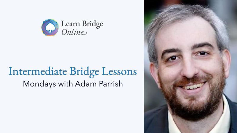 SAYC bridge lessons with Adam Parrish