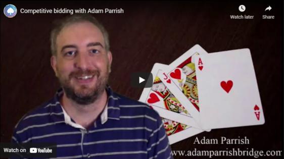 Competitive bidding with Adam Parrish