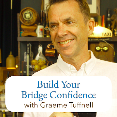 Online bridge lessons with Graeme Tuffnell