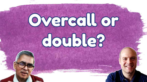 Overcall or double with 6 hearts and 18 hcp?
