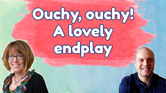 Ouchy, ouchy! A lovely endplay